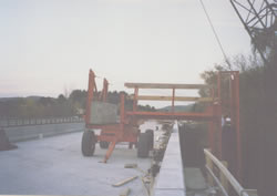 Model 16-9 A.T.X. Bridge Deck Overhang Stripping Buggy